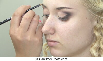 Makeup for eyebrow