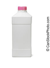 Plastic bottle for household cleaning products