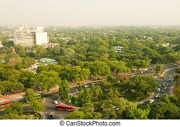 New Delhi - A unique view of New Delhi, the capital of India