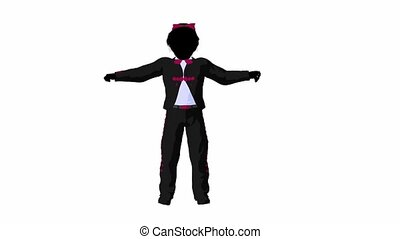 Mariachi Girl - Mariachi girl illustration silhouette...