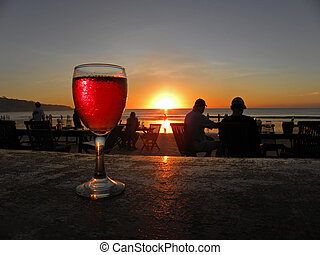 Beach Restaurant - JIMBARAN, BALI - 8 JULY, 2009: Picture of...