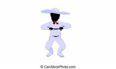 African Amercian Mariachi Boy
