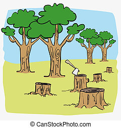 Illustration deforest cartoon - Illustration deforest sawyer...