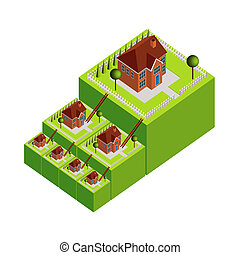 Property Ladder Illustration
