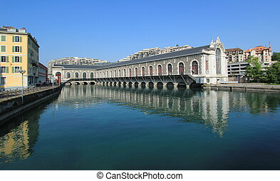 Batiment des Forces-Motrices, Geneva, Switzerland - Famous...