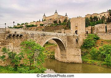 Toledo Puente de San Martin 01