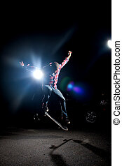 Cool Skateboarder Guy