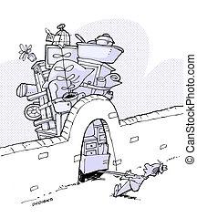 Umzug - umziehen mit Hindernissen