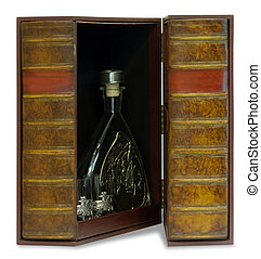 jewelry box for storing high-end cognac - antique jewelry...
