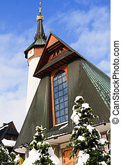Church in Zakopane, Poland