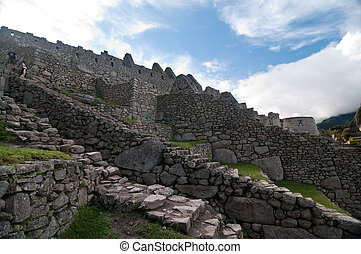 Machu Picchu a place to visit - The picture of the Machu...