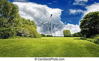 Spring power turbines