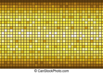 Disco Background - illustration of disco background with...