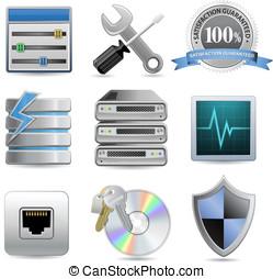 Web Hosting Icons
