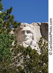 Mt Rushmore's Abraham Lincoln