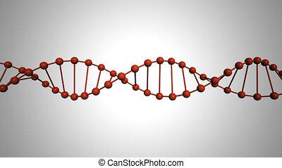 DNA animation loop hd 1080
