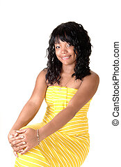 Girl with yellow dress 3.