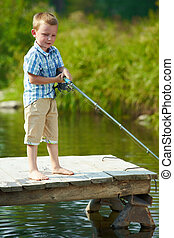 Little fisher