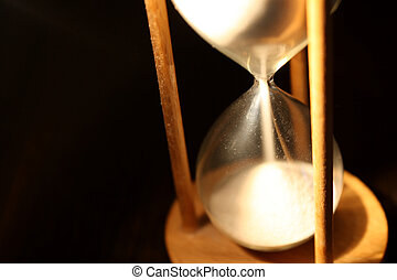 Isolated hourglass - Time is running out too quickly to...