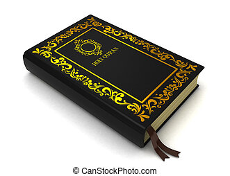 Quran - 3D Illustration of the Quran