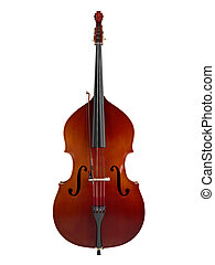 Double bass or string bass, upright bass, standup bass or...