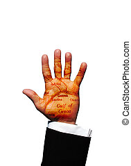 Genoa hand