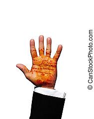 Tasmania hand