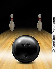 Tenpin bowling skittles