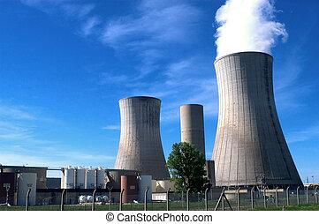 Industrial, local, Nuclear, poder, geração