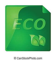 Ecology sticker