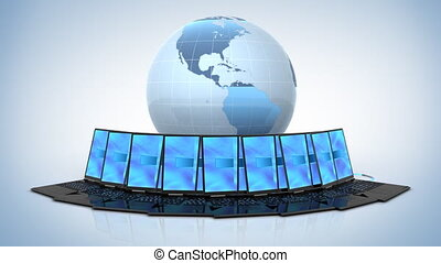Global Network, 3d animation