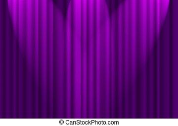 Purple Textured Background - A purple textured background,...
