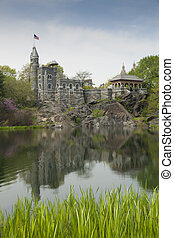 Belbedere castle, Central Park, New York, USA