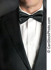 Man In Tux 2 - A close-up shot of a man wearing a tux.