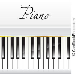 piano background - white piano background
