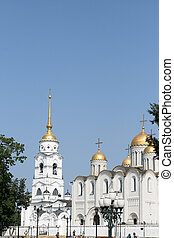 Uspensky cathedral in Vladimir Russia