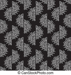 hand drawn seamless pattern background