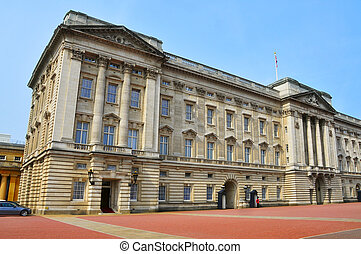 Buckingham Palace in London, United Kingdom - Buckingham...