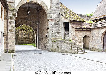 Rithenburg ob der Tauber - An image of the medieval town...