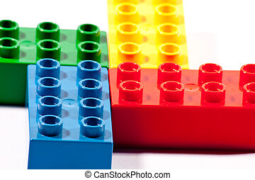 four bricks - bricks for little kids