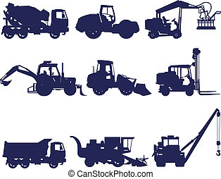 Machines - Collection of construction and agriculture...