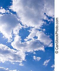 fondo, natura, cielo, composizione