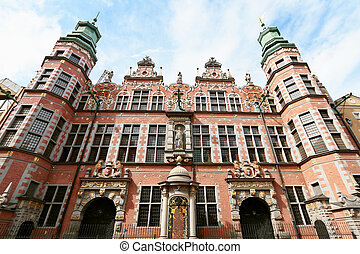 Great armory in Gdansk, Poland