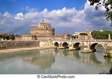 Sant Angelo - Castel Sant Angelo, Rome, Italy