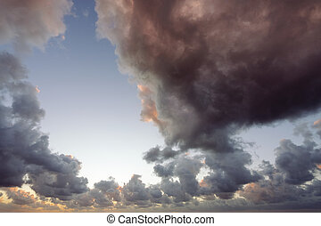 Volcanic clouds