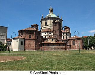 San Lorenzo church, Milan - Basilica of San Lorenzo in...