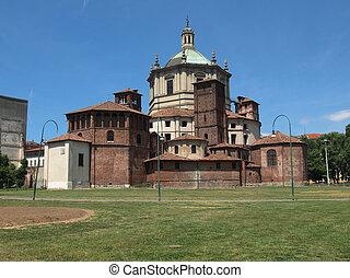 San Lorenzo church, Milan - Basilica of San Lorenzo in...