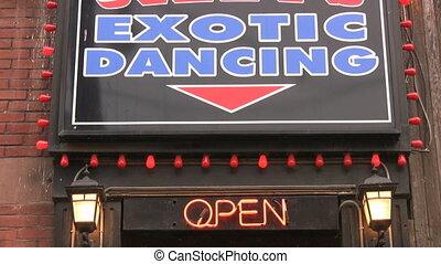 Exotic Dancing.