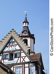 Halftimbered house in Creglingen (Franconia, Germany)