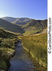 Coledale Beck in the English Lake District